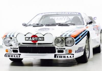Lancia 037 Works Rally Car